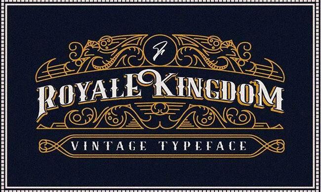 Royale Kingdom Font Family Free Download