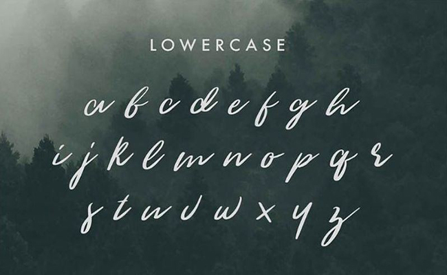 The Woodlands Font Free Download