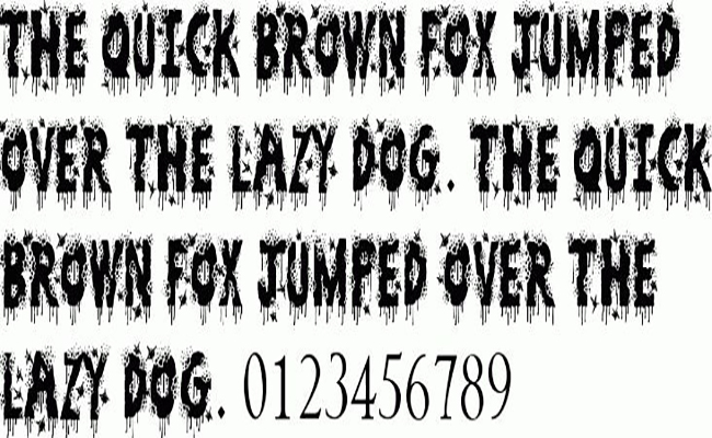 Zombie Slayer Font Free Download