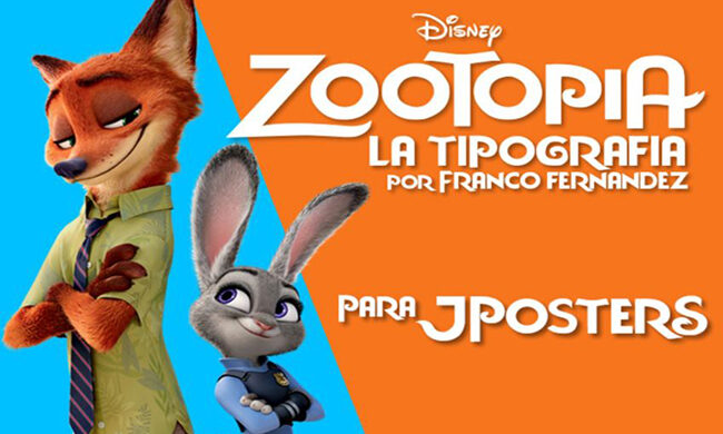 Zootopia Jposter Font Family Free Download