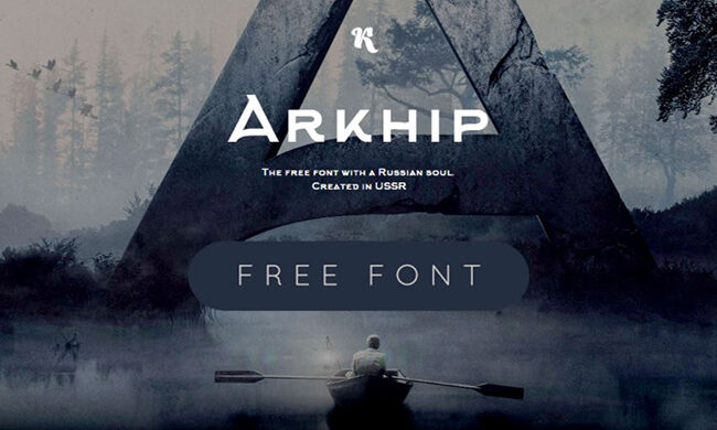 Arkhip Font Family Free Download