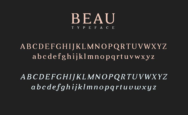 Beau Font Free Download