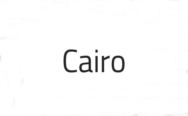 Cairo Font Family Free Download