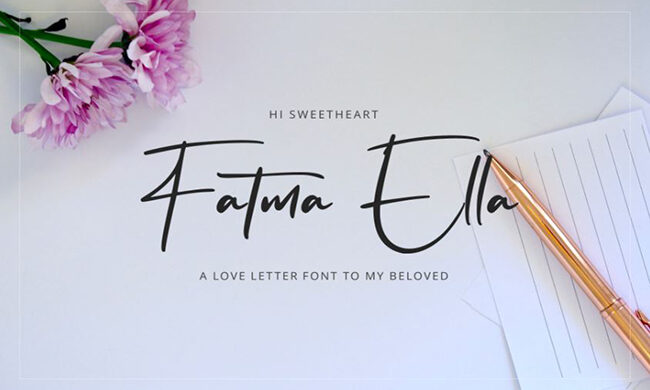 Flavellya Font Family Free Download