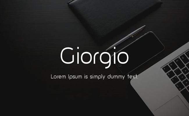 Giorgio Font Family Free Download