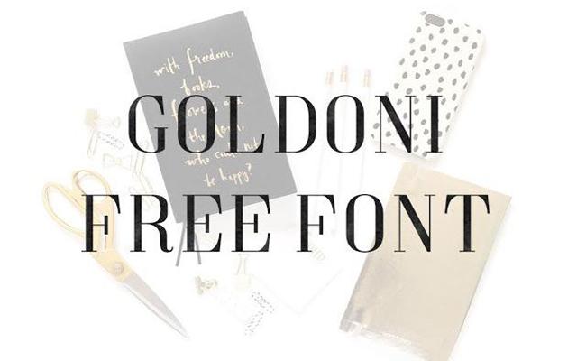 Goldoni-Font-Family-Download