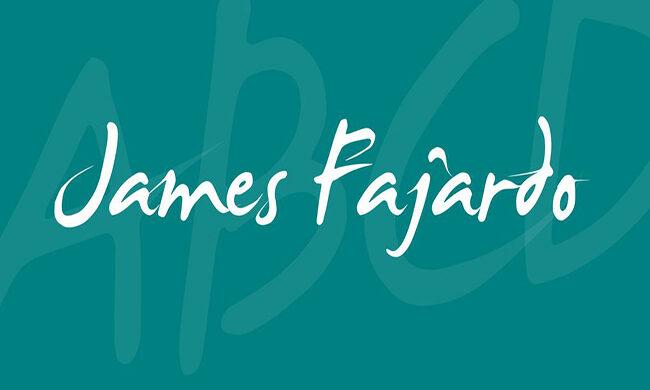 James Fajardo Font Family Free Download
