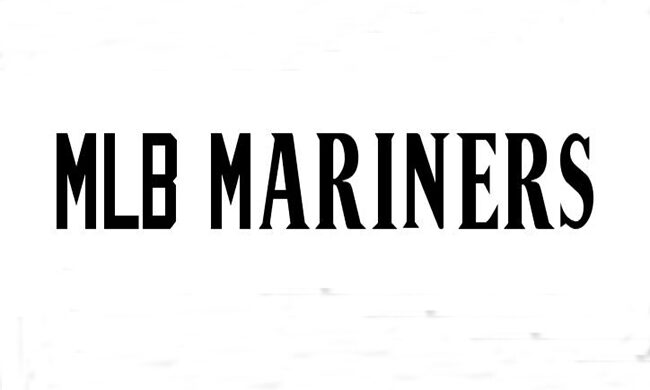 MLB Mariners Font Family Free Download