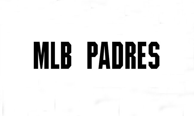 MLB Padres Font Family Free Download