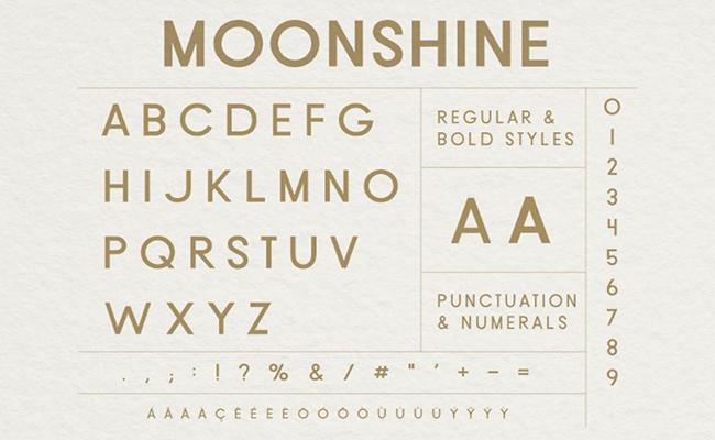 Moonshine-Font-Family-Download