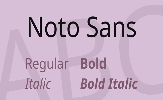 Noto Sans KR Font Family Free Download