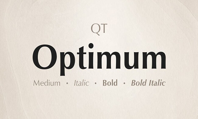 Optimum Font Family Free Download