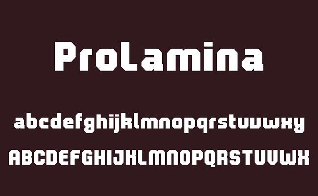 Prolamina Font Free Download