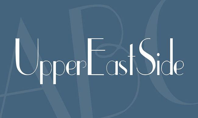 Upper East Side Font Family Free Download