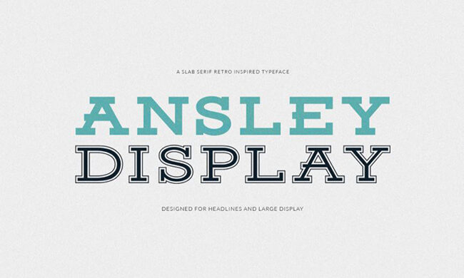 Ansley Font Family Free Download