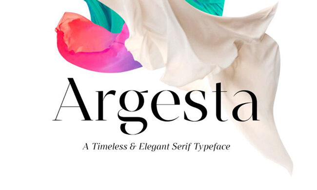 Argesta Font Family Free Download