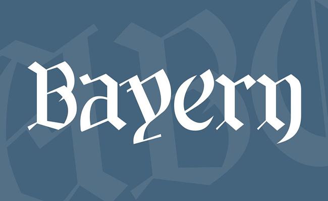 Bayern Font Family Free Download
