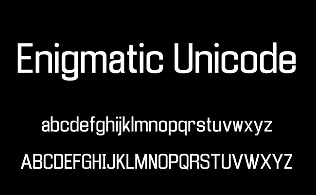 Enigmatic Font Free Download