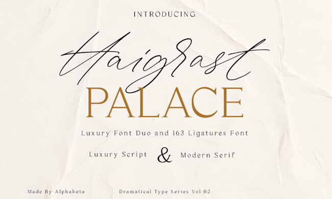 Haigrast Font Family Free Download