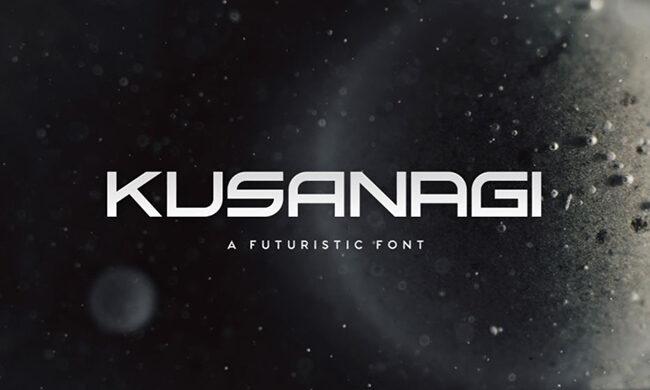 Kusanagi Font Family Free Download