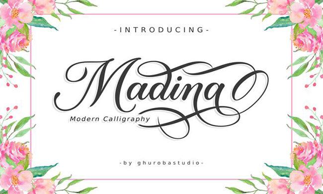 Madina Font Family Free Download