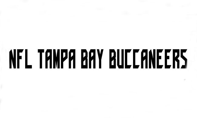 NFL Tampa Bay Buccaneers Font Family Free Download