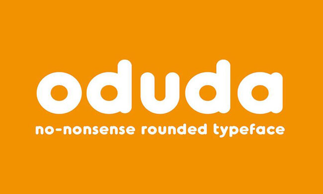 Oduda Font Family Free Download