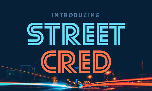 Street Cred Font Family Free Download