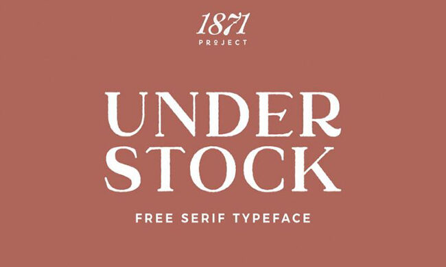 Understockrough Font Family Free Download